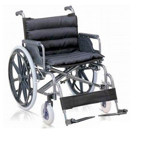 كرسي متحرك عريض مع مرتبة أسود 951
