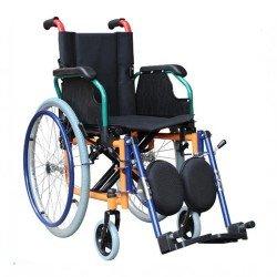 كرسي متحرك عريض جدا مع مرتبة أسود 951