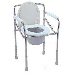 كرسي حمام ثابت فضي صيني 894