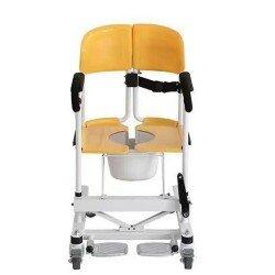 كرسي حمام ونقل المريض متحرك