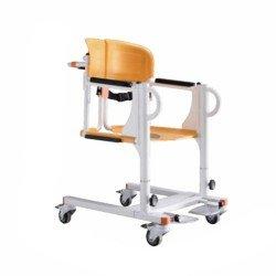 كرسي حمام ونقل المريض متحرك 46 سم كهربائي