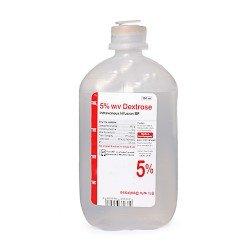 محلول ديكستروز 5% 500مل
