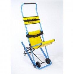 كرسي اخلاء نزول درج بعجلات يدوي