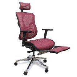 سباكير كرسي مكتبي مريح مع ساند قدمين