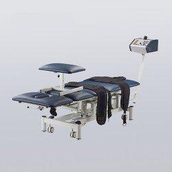 كوينفي طاولة لجهاز شد الفقرات مع احزمة EL04