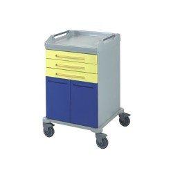 عربة ادوية مع 6 ادراج